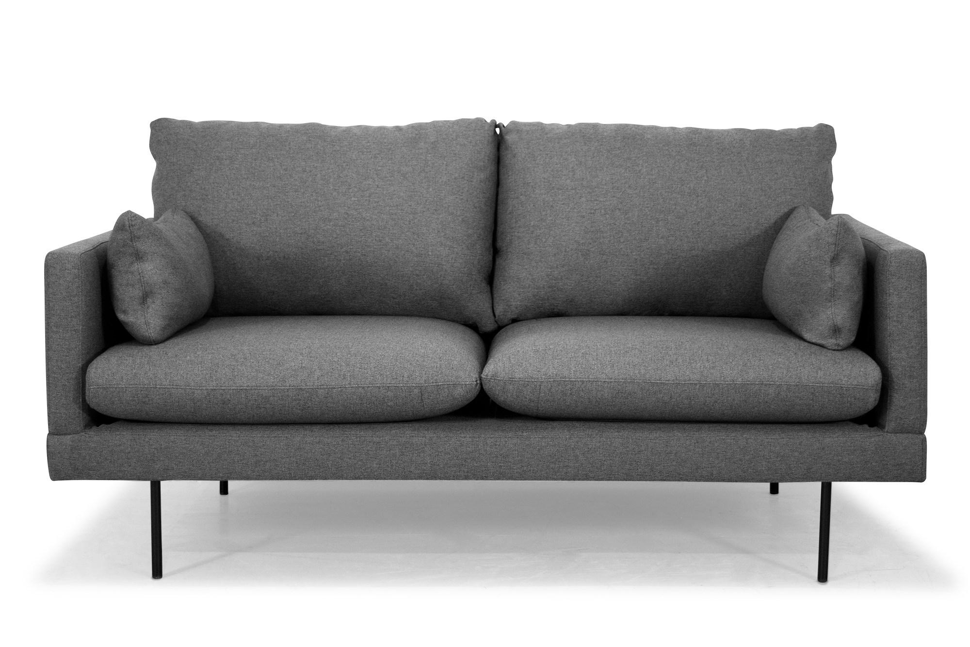 Billede af Cambridge 2 Pers. Sofa I Mørkegråt Stof