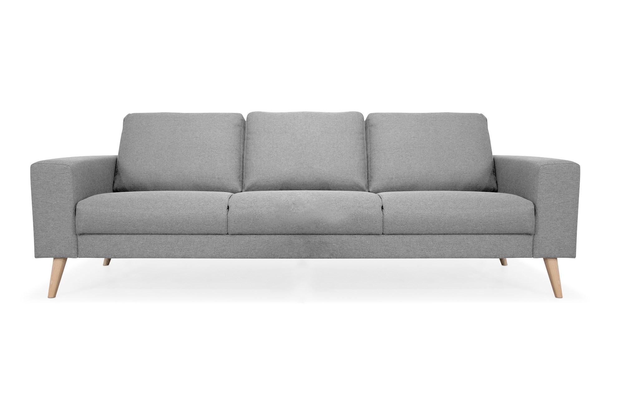Billede af New York 3 Pers. Sofa I Gråt Stof