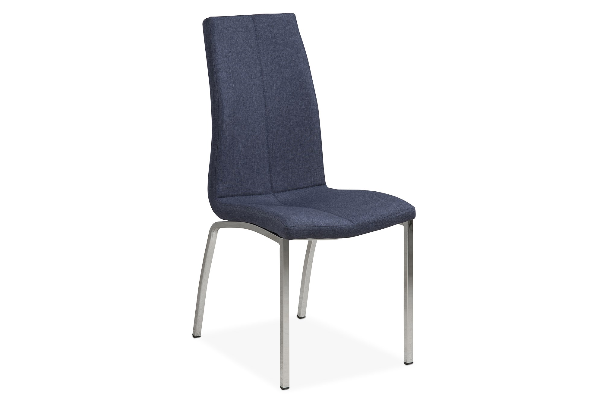 Alina Spisebordsstol, Mørkeblå M. Krom Stel